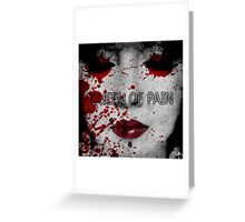 Queen of Pain Greeting Card