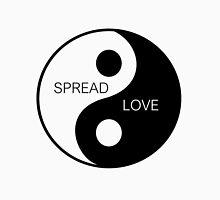 Yin Yang  - Spread Love Women's Fitted Scoop T-Shirt