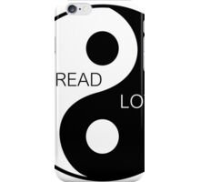 Yin Yang  - Spread Love iPhone Case/Skin