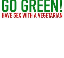 Go Green! Have sex with a vegetarian by worshipXtribute