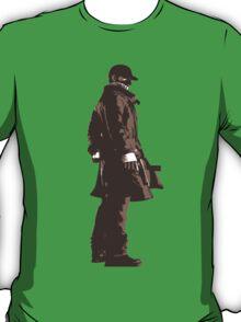 Minimalist Aiden Pierce from Watch Dogs T-Shirt