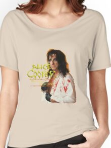 Alice Cooper latest Women's Relaxed Fit T-Shirt