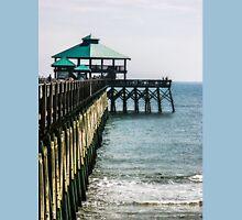Folly Beach Pier Unisex T-Shirt