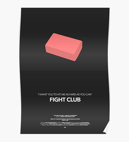 Fight Club Movie Poster Poster