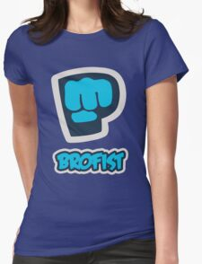Pewdiepie Brofist Womens Fitted T-Shirt