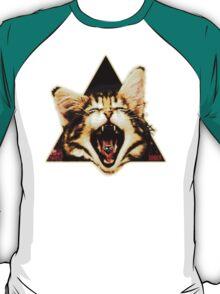 Kitten Triangle T-Shirt