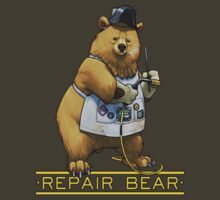 Repair Bear - Grizzly by Julia Lichty