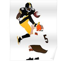 Minimalist Antonio Brown Poster