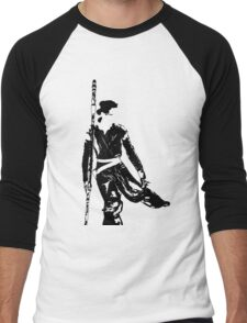 Rey  Men's Baseball ¾ T-Shirt