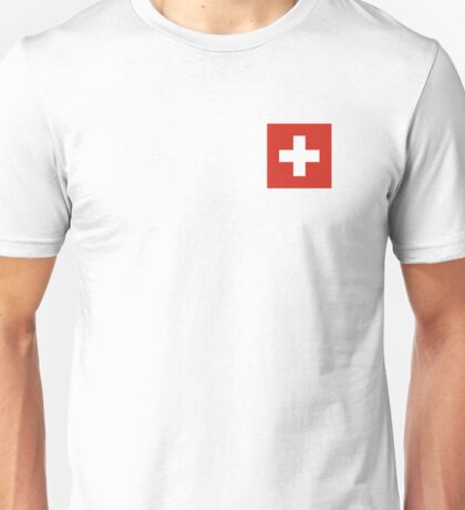 Switzerland Flag Unisex T-Shirt