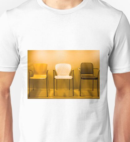 3 Chairs Unisex T-Shirt