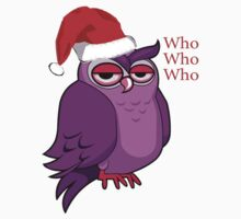 Who Who Who Holiday Owl overlay by JimmyGlenn Greenway