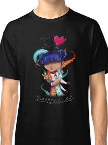 I Heart Tentacles Classic T-Shirt
