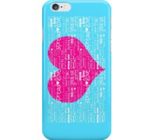 SPREAD LOVE  iPhone Case/Skin
