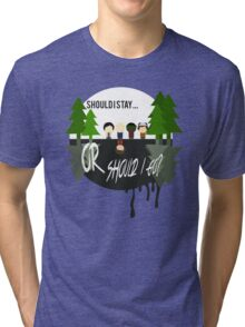 The Upside Down - Stranger Things Tri-blend T-Shirt