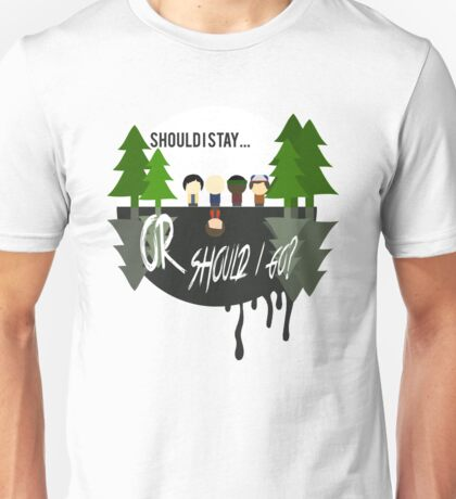 The Upside Down - Stranger Things Unisex T-Shirt