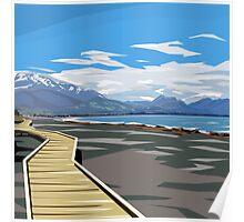 Kaikoura, New Zealand by Ira Mitchell-Kirk Poster