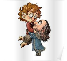 Bilbo and Thorin Poster