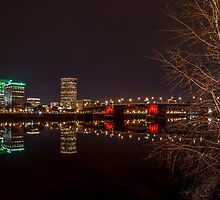 The Eastbank Esplanade in Portland, Oregon by mspixvancouver