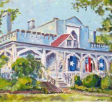 Bonnie Blue Morning by Susan E Jones