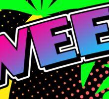 Crazy 80s SWEET! sticker Sticker