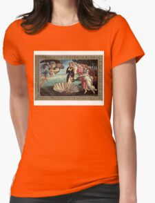 Birth Of Janet Womens Fitted T-Shirt