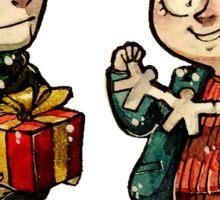 Christmas Kieren and Simon Sticker