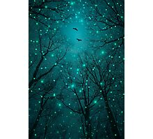 Silently, One by One, the Stars Blossomed (Geometric Stars Remix) Photographic Print