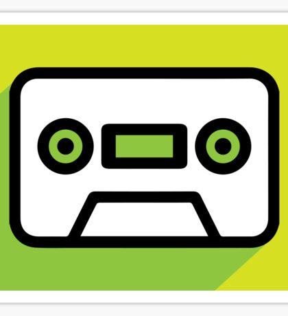 Audio tape icon Sticker