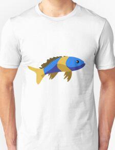 Cute fish cartoon Unisex T-Shirt