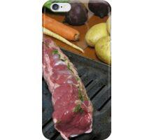 Eel River Organic Beef Tenderloin Roast with Vegetables iPhone Case/Skin
