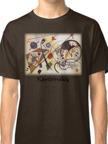 Kandinsky - Transverse Lines Classic T-Shirt