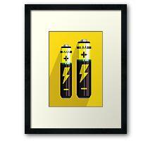 Battery Icon Framed Print