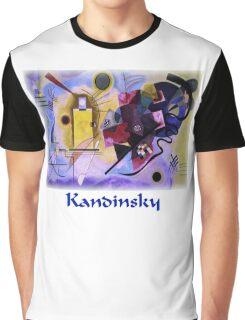 Kandinsky - Yellow-Red-Blue Graphic T-Shirt