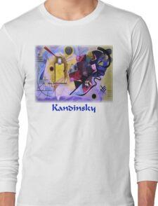Kandinsky - Yellow-Red-Blue Long Sleeve T-Shirt