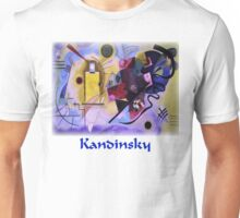 Kandinsky - Yellow-Red-Blue Unisex T-Shirt
