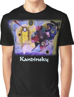 Kandinsky - Yellow-Red-Blue Graphic T-Shirt