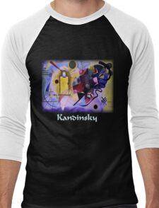 Kandinsky - Yellow-Red-Blue Men's Baseball ¾ T-Shirt