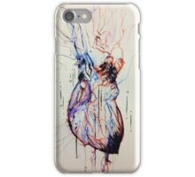 A Flood of Blood to the Heart iPhone Case/Skin