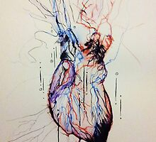 A Flood of Blood to the Heart by Amanda Bush