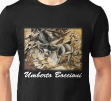 Boccioni - Charge of the Lancers Unisex T-Shirt