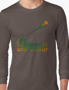 For Voldemort and Valour (UK) Long Sleeve T-Shirt