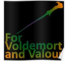 For Voldemort and Valour (UK) Poster