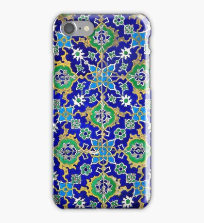 Worn Decorative Pattern iPhone Case/Skin