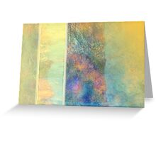 Abstract Reeds  Greeting Card