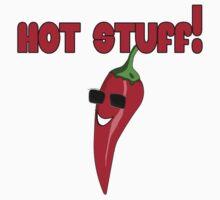 Hot Stuff! Cayenne Chilli Pepper Sexy T-Shirt Kids Tee