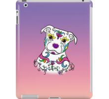Staffordshire Bull Terrier Sugar Skull iPad Case/Skin