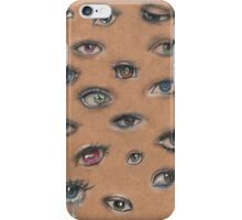 A Collage of Eyes iPhone Case/Skin