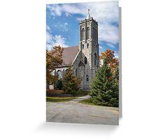 Sacred Heart of Mary Roman Catholic Church Greeting Card