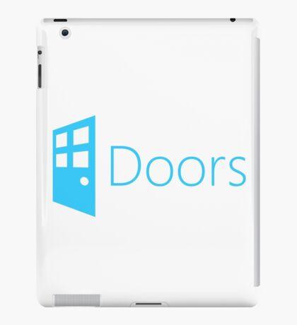 Doors (Windows Parody) iPad Case/Skin